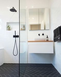 "15 great bathroom renovation ideas you need to know! - Almost three quarters of customers who contact us to get a bathroom renovation offer in Perth often say at first: ""I have a really small bathroom. "" Therefore, the right kind of advice Bathroom Renovations Perth, Bathroom Renos, Bathroom Ideas, Bathroom Remodeling, Remodel Bathroom, Bathroom Cabinets, Remodeling Ideas, Bathroom Stuff, Compact Bathroom"