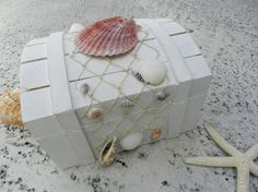 Alternative Ring Bearer Box for a Beach or Nautical by ChiKaPea, $37.00