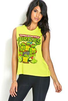 Ninja Turtles Muscle Tee