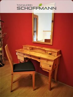 massives Zirbenholz aus den Kärntner Nockbergen Corner Desk, Furniture, Home Decor, Carpentry, Timber Wood, Corner Table, Decoration Home, Room Decor, Home Furnishings