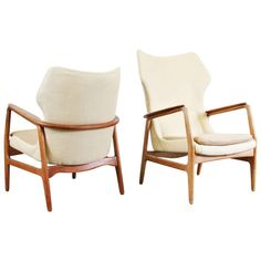 Aksel Bender Madsen Lounge Chairs Set for Bovenkamp, circa 1960