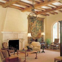 Ken Tate Architect - Giddens Spanish colonial Residence in Mississippi