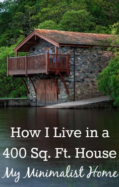 How I Live in a 400 Sq. Ft. House – My Minimalist Home. There are a lot of problems that come along with small space living, so if you're thinking about down sizing in order to save a little money or live somewhere more desirable, here are a few of my tips so that you can successfully live in a minimalist house. http://www.makingsenseofcents.com/2013/05/live-in-a-400-sq-ft-house.html