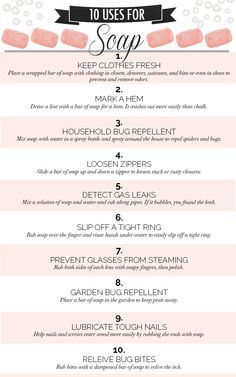 10 Uses for Soap