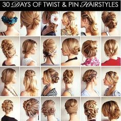 So many ways to do your hair!