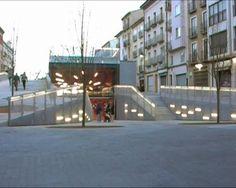 TERUEL-ZILLA by MI5 arquitectos & PKMN architectures by PKMN [pac-man]. Underground Leisure Lair and Public Space.