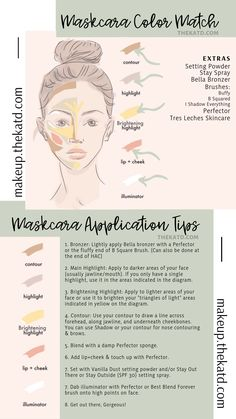 Maskcara Beauty Makeup tips Maskcara application tips for a beautiful and flawless face each and every time ! Beauty Make-up, Beauty Makeup Tips, Beauty Secrets, Beauty Hacks, Beauty Skin, Maskcara Makeup, Maskcara Beauty, Contouring Makeup, Avocado Smoothie