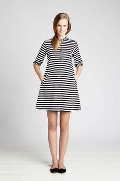 Kaste Striped Tunic Classic Black/White for Women by Marimekko Marimekko Dress, Pfaff, Stripped Dress, Fashion Plates, Retro Dress, Clothes For Sale, Summer Clothes, Summer Outfits, Style Me