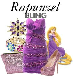 """""""Rapunzel"""" by bryannnne ❤ liked on Polyvore"""