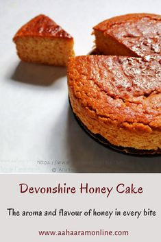 Devonshire Honey Cake If you love honey, then this is a cake you should try. This easy-to-make cake is rich in the taste and aroma of honey in every bite. The perfect accompaniment to that cup of afternoon tea. Köstliche Desserts, Delicious Desserts, Yummy Food, Italian Desserts, Tea Cakes, Cupcake Cakes, Cake Cookies, Cupcakes, Russian Honey Cake