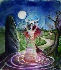 The Birthing-by Colleen Koziara- www.mysticalwillow.com
