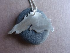 I either want this necklace or a tattoo just like it. Love the big lake.