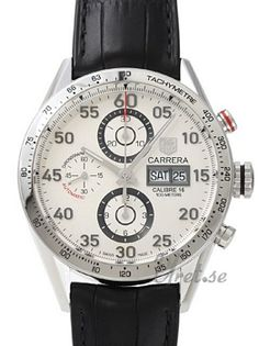 TAG Heuer Carrera Day Date Silver Dial
