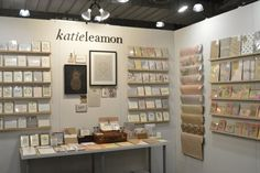Luxury cards & stationery proudly made in England.  www.katieleamon.com Katie Leamon Tweets by... Luxury Card, Trade Show, Stationery, England, Display, Tips, Cards, How To Make, Ideas