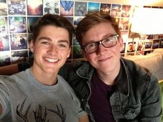 Finn Harries + Tyler Oakley