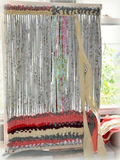 Sewing Project Updates : Making A Rag Rug On A Loom And Hand Quilting    Frugal