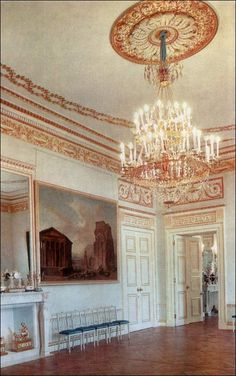 Dancing Room - Pavlovsk Palace & Park - Country Residence of the Russian Imperial Family