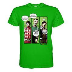 King of Merch - Herren T-Shirt - The Big Bang Theory Superhero Quips Bazinga Comic Sheldon Lee Cooper Leonard Hofstadter Penny Howard Raj Amy Stuart Emily Nerd Geek Flash Green Lantern Spock Grün S King http://www.amazon.de/dp/B0185RK5R2/ref=cm_sw_r_pi_dp_Bsdvwb1NKMCFV
