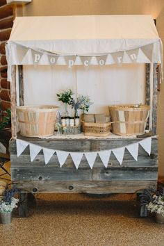 This would make a beautiful craft show booth for a rustic or vintage vibe brand. Just add handmade products