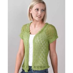 Valley Yarns 171 Vintage Vest (Free Pattern) in Valley Yarns at Webs Free Knitting Patterns For Women, Lace Knitting Patterns, Knitting Ideas, Knitting Projects, Easy Knitting, Lace Vest, Lace Cardigan, Knit Cardigan Pattern, Summer Knitting