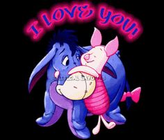 eyore Clip Art | images of love you eeyore piglet pc gif photo by kika 19 photobucket ...
