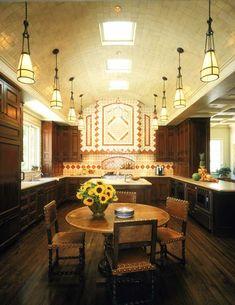 Spanish Style Kitchen | Portfolio : Classic | White Webb, LLC