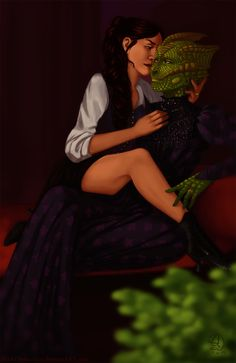 Vastra and Jenny 2 | Doctor Who by BlackDistraction on DeviantArt