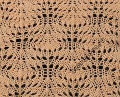 Agujas de tejer patrones Calado - País mamá