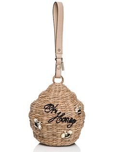 down the rabbit hole wicker beehive - Kate Spade New York