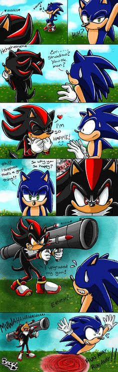 Sonic the mini comic 2 by Mysterious-D on DeviantArt