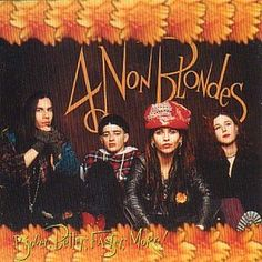 Four Non Blondes - Bigger Better Faster More Vinyl LP Bigger, Better, Faster, More! is the only studio album released by Alternative Rock band 4 Non Blondes, released in Mark Ryden, Vinyl Music, Vinyl Records, Linda Perry, Kinds Of Music, My Music, Jessie, Non Blondes, Cinema