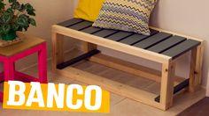Amamos móveis que combinam com tudo e todos os ambientes, certo? CERTOOO!!! E esse banquinho você vai amar de tão fofo, confortável e versátil que ele é. Pod...
