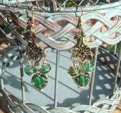 A personal favorite from my Etsy shop https://www.etsy.com/listing/245511783/light-green-glass-wire-wrapped