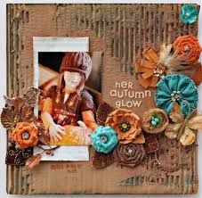 Prima: November Layouts with AnnaMarie Mondro, scrapbook pages Altered Canvas, Altered Art, Scrapbook Paper Crafts, Scrapbook Cards, Cardboard Recycling, Scrapbook Page Layouts, Scrapbooking Ideas, Mini Albums, Cardmaking