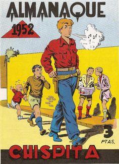 Chispita 1ª Aventura, Almanaque 1952