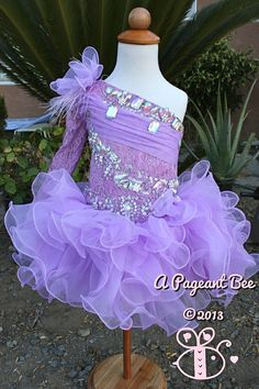 Beautiful Pageant glitz cupcake pageant dress by APAGEANTBEE, $119.99