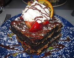 Norma's Chocolate Decadence French Toast - Why is this the first time I'm hearing about this?!