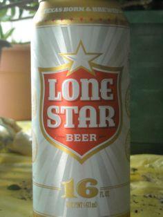 lonestar beer can