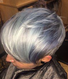 ¡Peinados super geniales gris para jóvenes y mayores! - Cortes De Pelo!