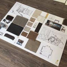 Nikki rees design board mood board inspiration in 2019 дизай Interior Design Classes, Interior Design Portfolios, Interior Design Sketches, Interior Design Boards, Moodboard Interior Design, Home Interior, Interior Paint, Luxury Interior, Portfolio Design