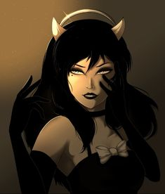 """Dreams come true, Susie. Dreams come true."" ------------------------------------------------ Alice Angel : Bendy and the Ink Machine Beautiful Modern Vampires, Red Cocktails, Alice Angel, Bendy And The Ink Machine, The Most Beautiful Girl, Betty Boop, All Art, Deviantart, Superhero"