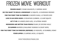 TV Show workouts - Google Search