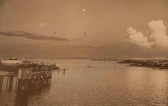 The Harbor in Destin during the early years. #indestin #history #oldphotos