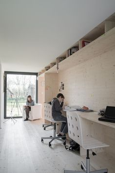 MAISON D #architecture #interiordesign #workspace   A Great Space, But  Those Book