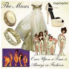 """""""Disney Style: The Muses"""" by trulygirlygirl on Polyvore"""
