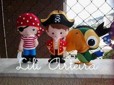 Piratas de feltro                                                                                                                                                     Mais