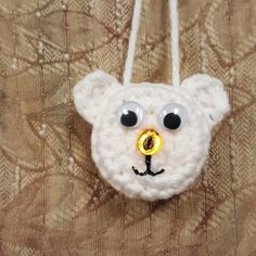 Lighted Polar Bear Ornament – A FANtastic Free Pattern