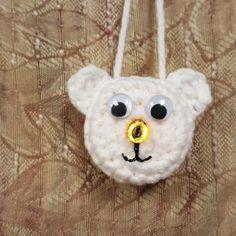 Lighted Polar Bear Ornament – A FANtastic Free Pattern