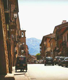 Amatrice Italia, mis sentimientos
