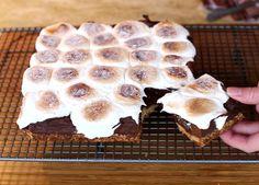 S'mores Brownies - Natvia.com Articles and Recipes